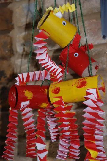 46 giraffes dance kid craft