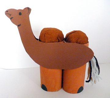 53 camel kid craft