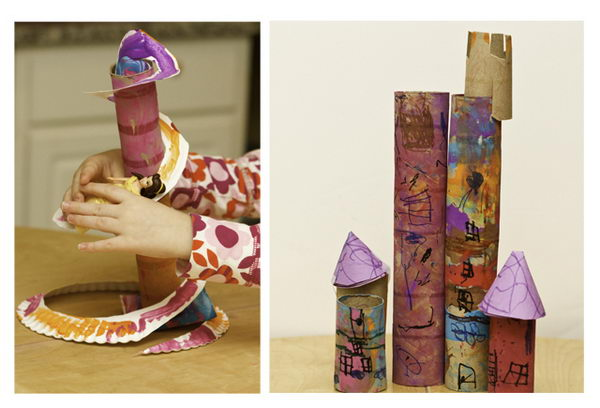 10+ Homemade Building Themed Toilet Paper Roll Crafts - Hative