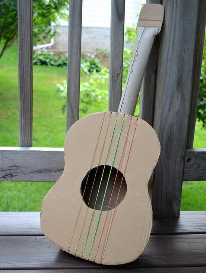 Kerajinan Gitar Dari Kardus