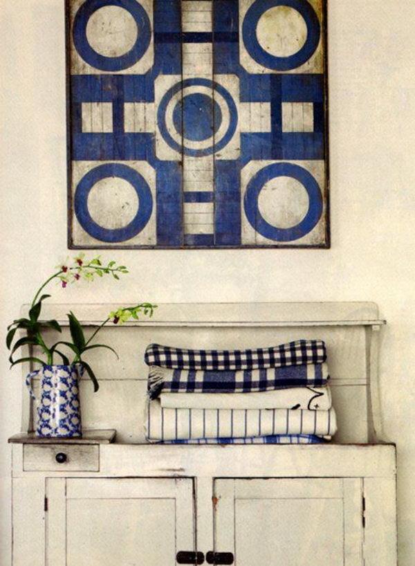 Country Shelf Decorating Ideas