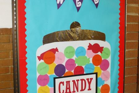 25 Creative Bulletin Board Ideas for Kids   Hative The new students see this board on the first day of