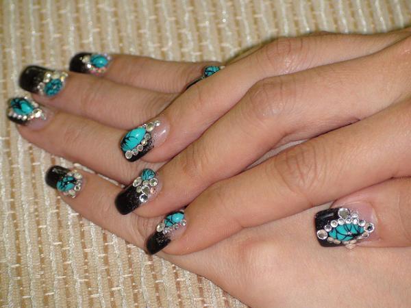 3d Crystal Nail Art