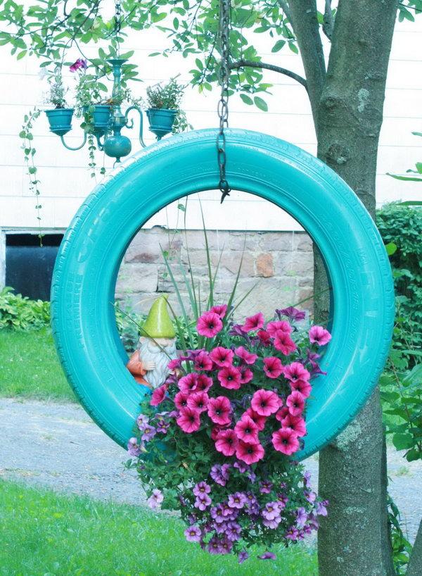 Outdoor Hanging Flower Pots