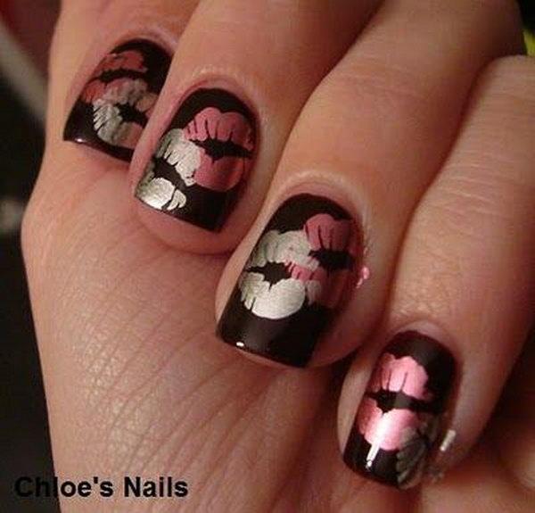 Sweet Kiss Nail Art Designs Hative