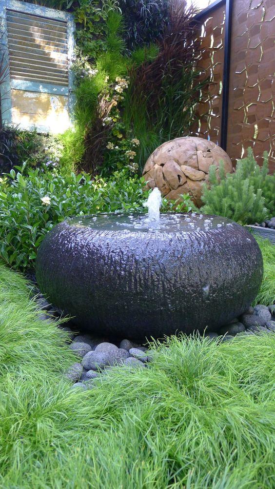 Green Garden Pebbles