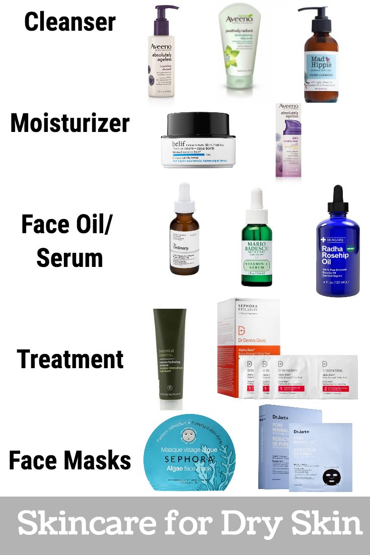 Skin Care Routine for Dry Skin: Products & Routine