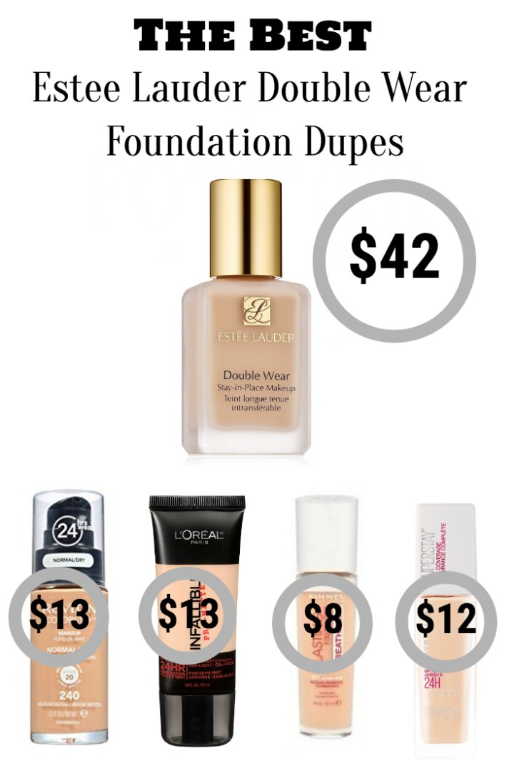 The Best Drugstore Dupes: Estee Lauder Double Wear Foundation