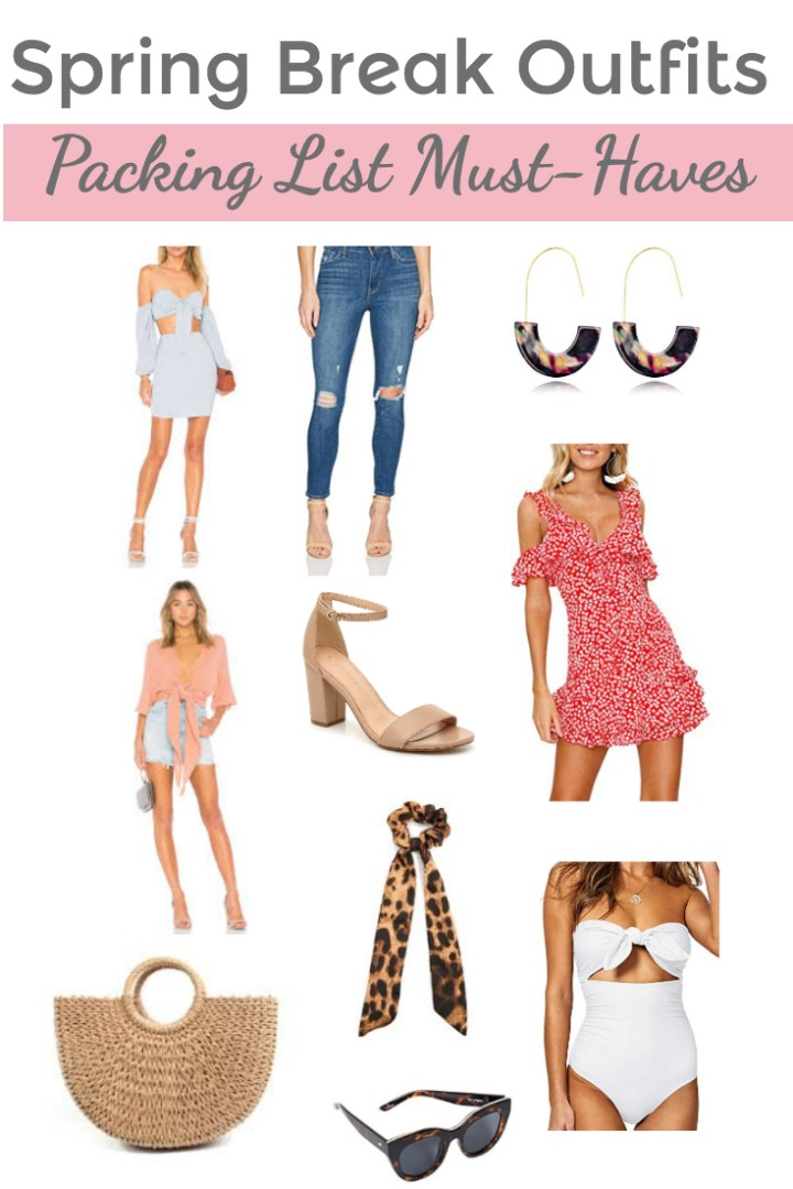 Spring Break Outfits: Wardrobe & Packing List Must-Haves