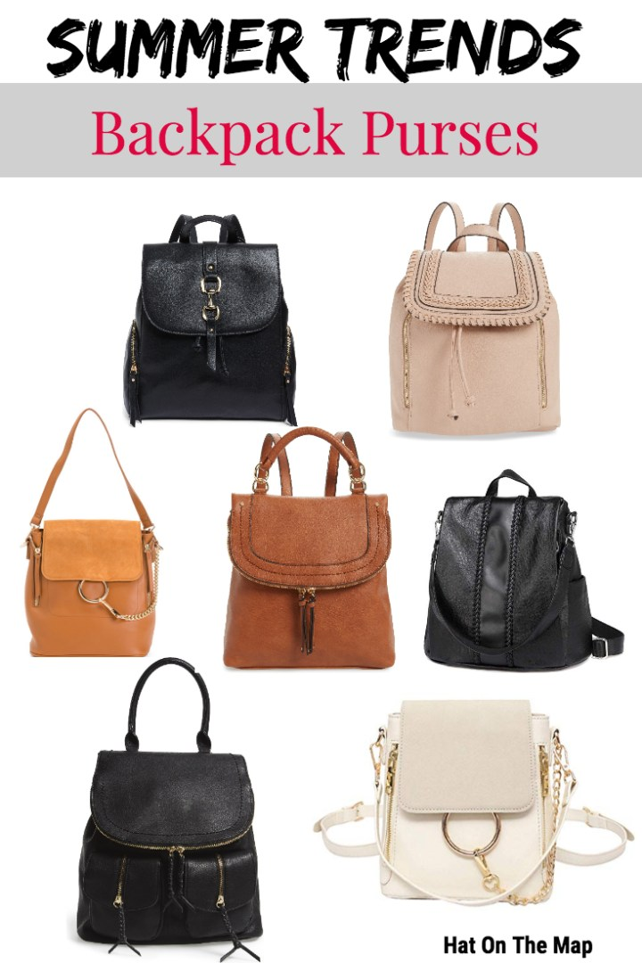 Backpack Purses – My Favorite Summer Trend