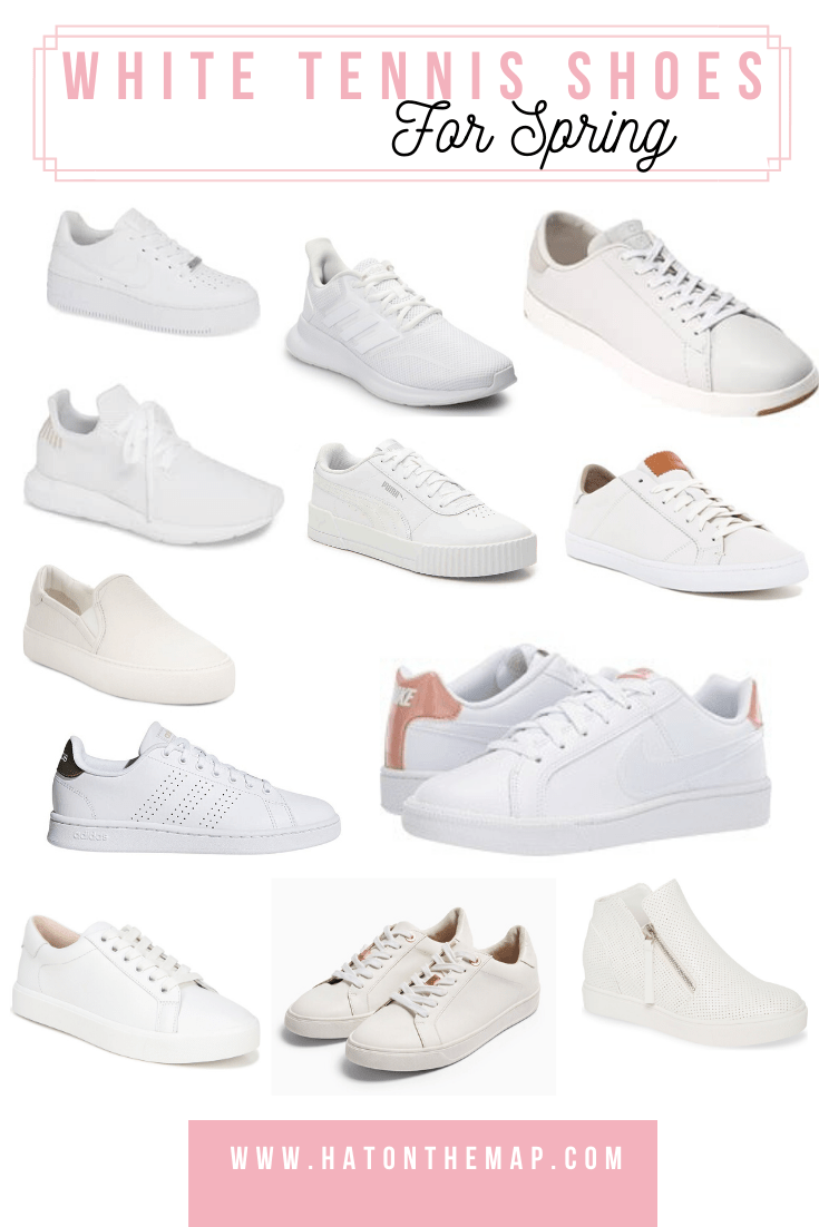 Shoes for Spring: The Best of White Sneakers