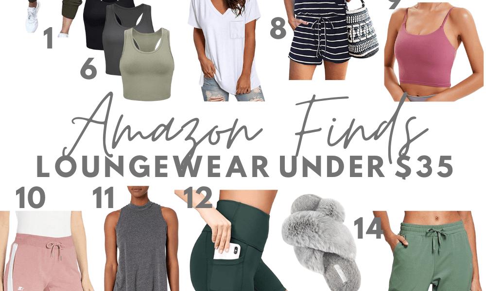 Amazon Loungewear Under $35