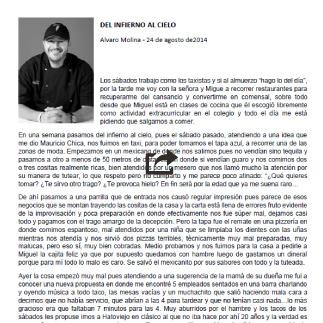 24 de Agosto, 2014 Alvaro Molina, Del Infieno al Cielo
