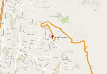 Mapa Hatoviejo Las Palmas