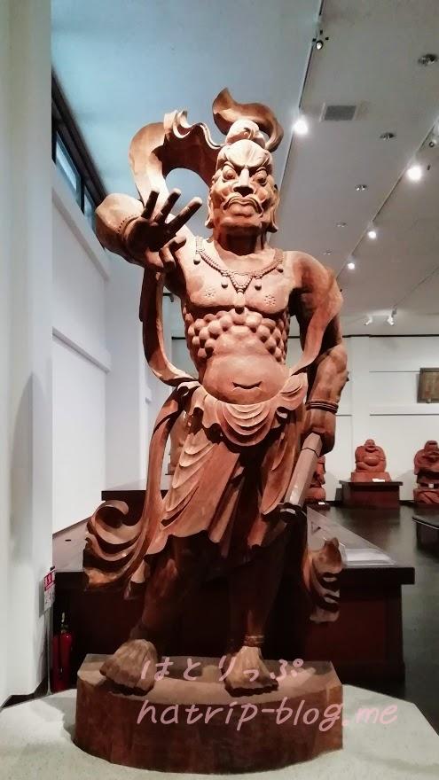 上原美術館 仏教館 吽形