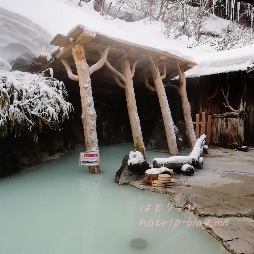 乳頭温泉郷・鶴の湯温泉 混浴露天風呂