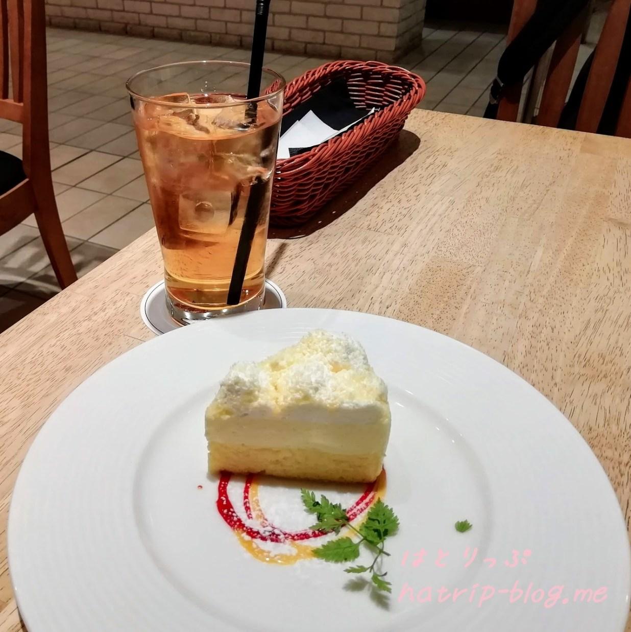 北海道 小樽 ルタオ パトス カフェ ドゥーブルフロマージュ