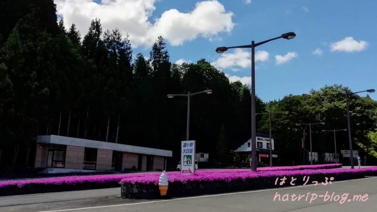 岐阜県郡上市 道の駅 大日岳