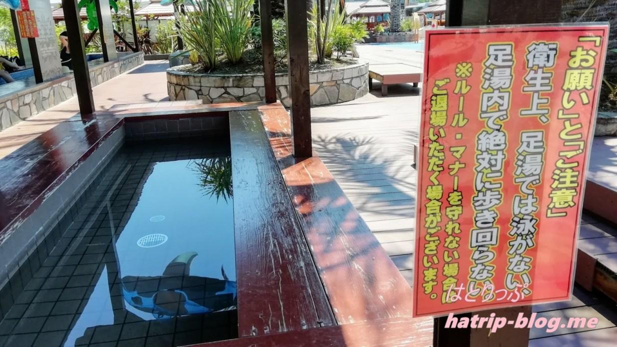 群馬県甘楽町 ヨコオ こんにゃくパーク 足湯