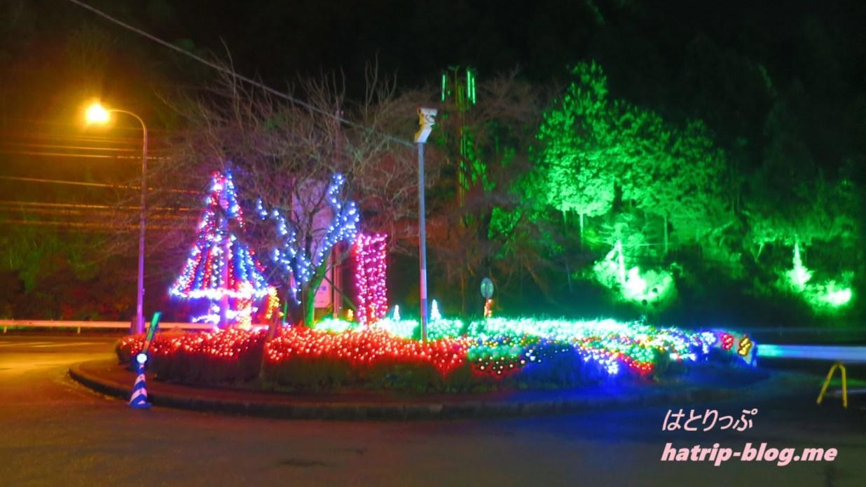 宮ケ瀬ダム クリスマス イルミネーション 駐車場