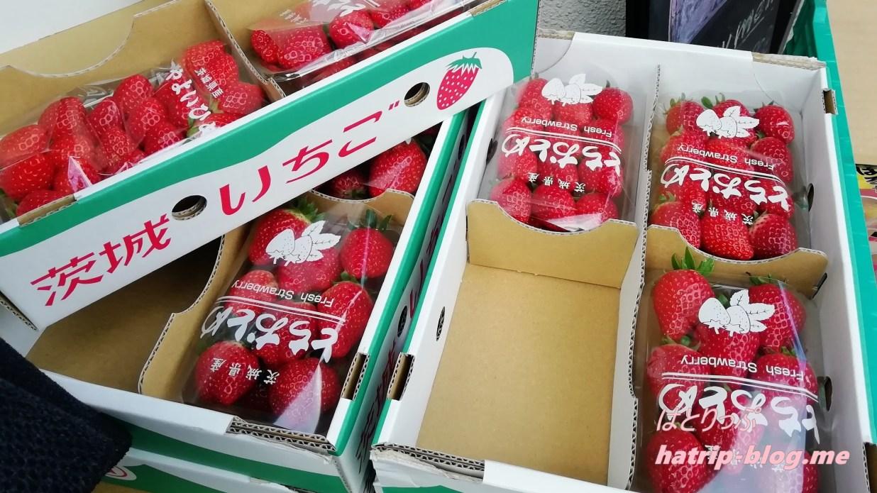 埼玉県草加市 フルーツパーラー808 いちご