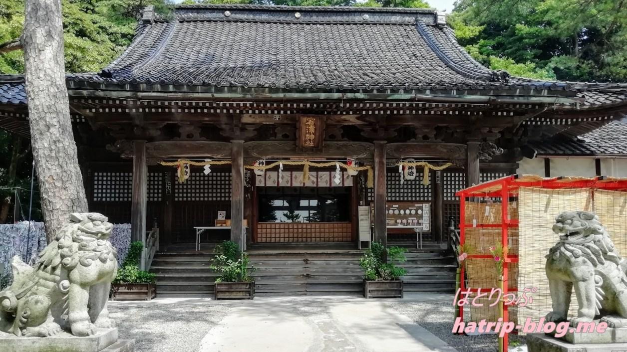 石川県金沢市 石浦神社 拝殿