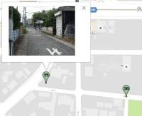 デジカメ写真に位置情報を記録し地図上に表示する方法