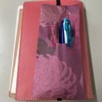 手帳用の紙製筆箱の作り方
