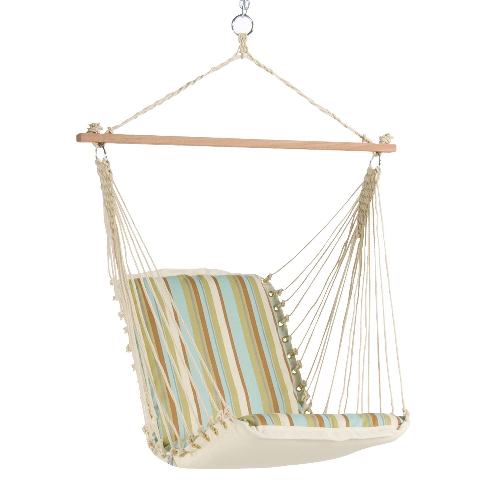 Single Cushioned Swing