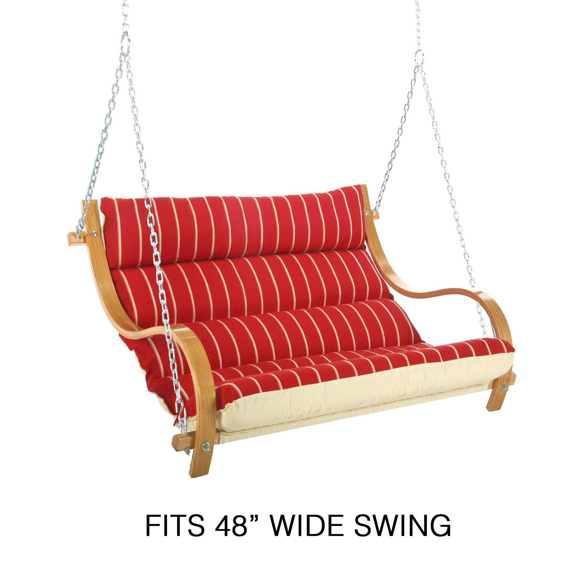 Replacement Double Swing Cushion 48