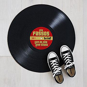 record-doormat