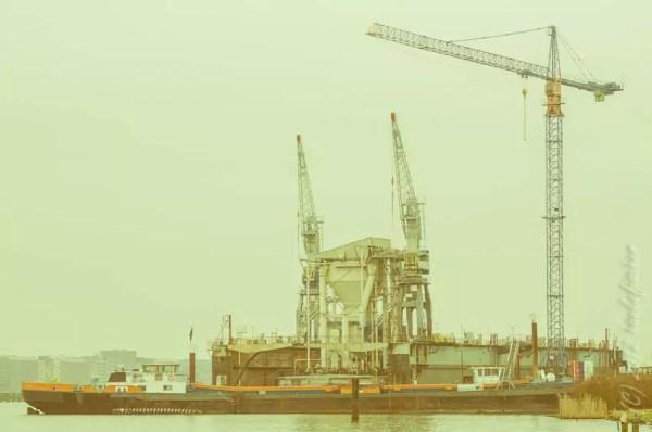 chantier naval « Oranje Werft », Nieuwendam
