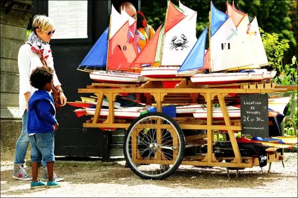 les voiliers du Parc du Luxe, Paris 6e