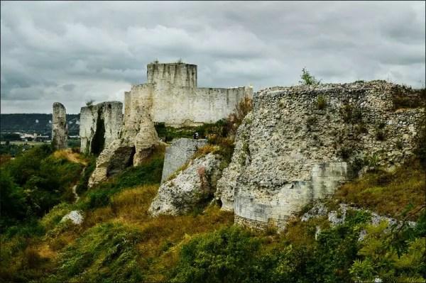 les ruines du Château Gaillard