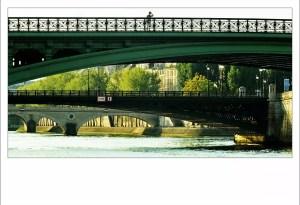 à rebours : Pt Marie, Pt Louis Philippe, Pt d'Arcole, Pt Notre Dame