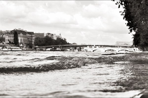 La Seine en crue. Mai 2013