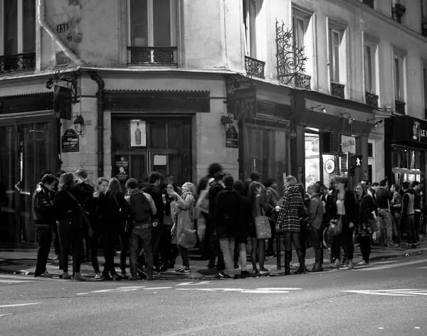 le fête se déroule dans la rue