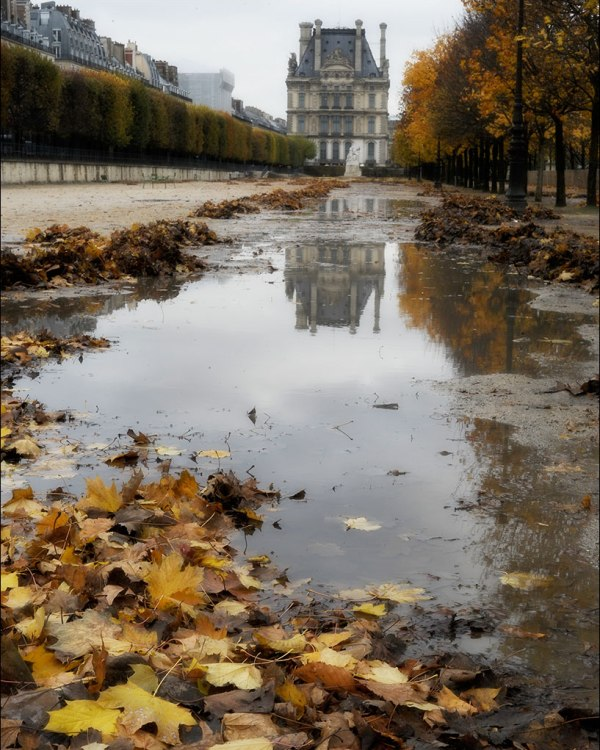 miroitement. Tuileries.