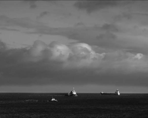 rencontre sur la route de navigation Kiel - Baltique