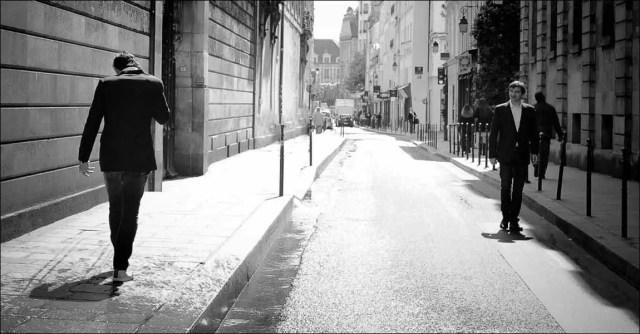 dans la rue. Le Marais, 2013.