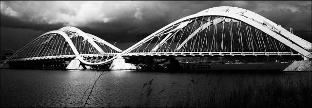 Le pont Ennëus Heerma situé à IJburg