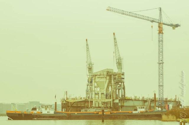c'étaient les chantiers naval qui ont justifiés le « boom immobilier » aux quartiers du nord d'Amsterdam.