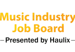 Haulix Music Industry Job Board Careers, music biz, music business, music industry, job board, jobs, music jobs