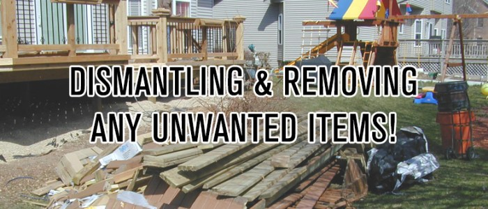 Remove Unwanted Items