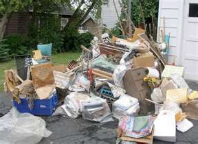 Same Day Junk Removal Outside