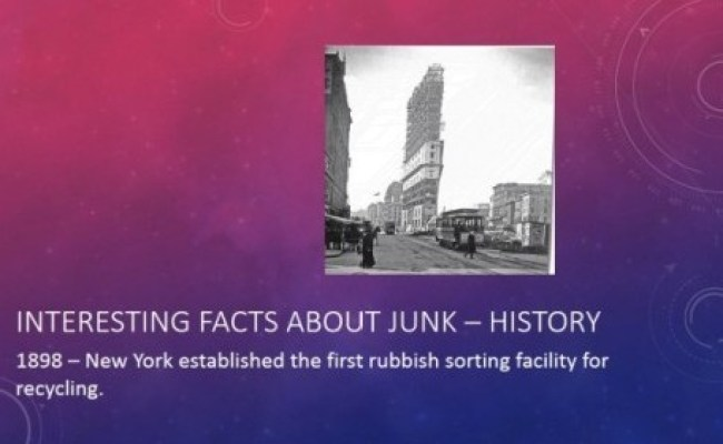 junk removal facts