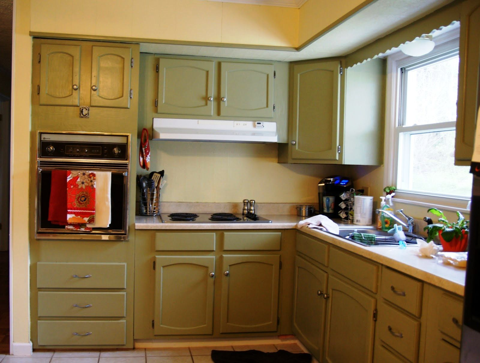 how to remove old kitchen countertops |