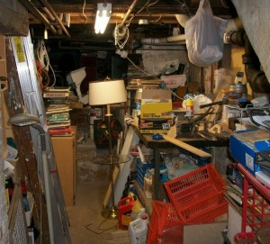 basement cleanout