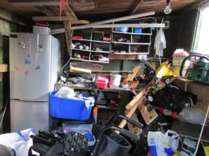 storage shed clean out how-to