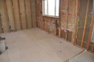 subfloor tile preparation
